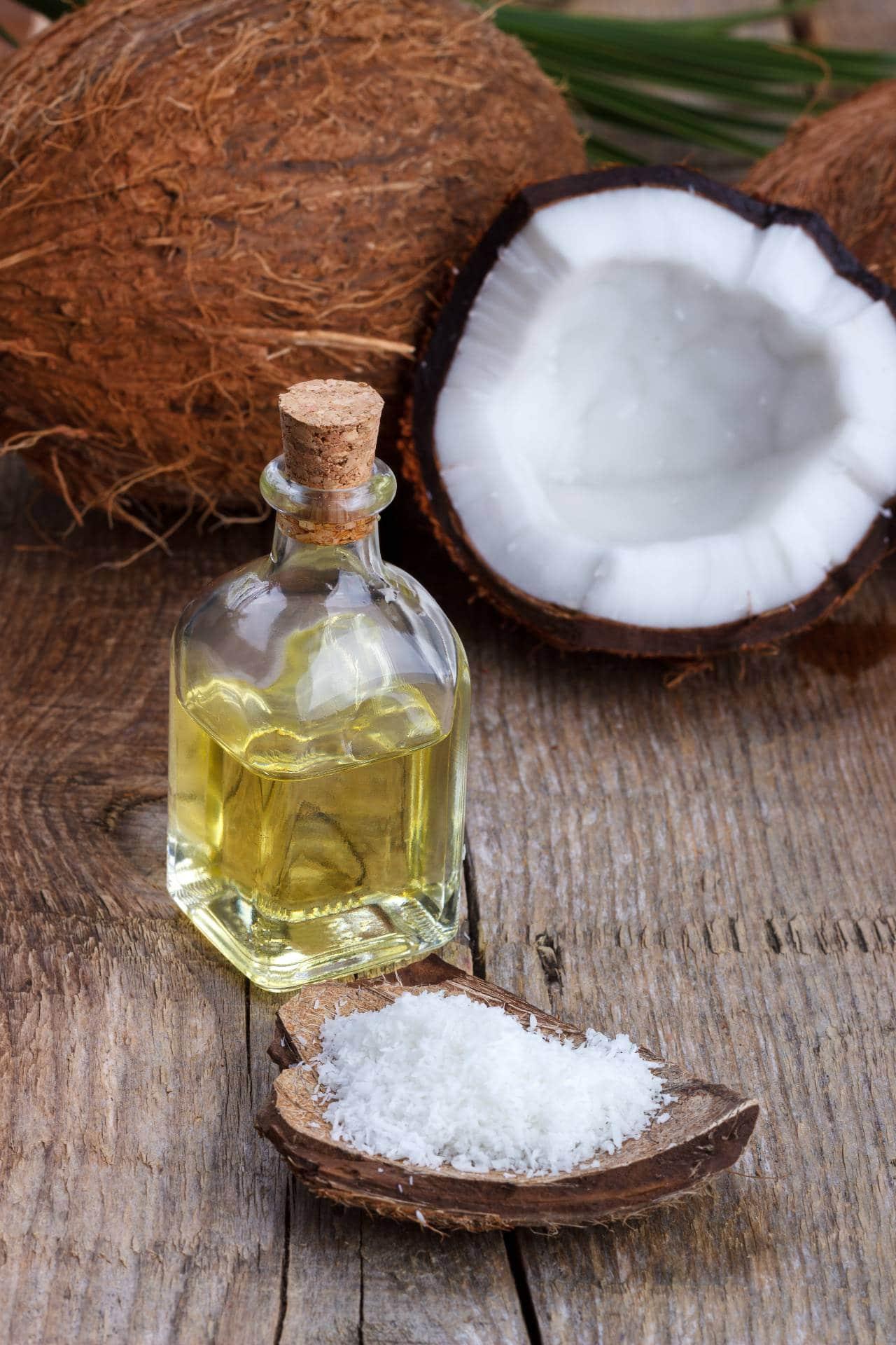 el coco se usa en la cocina y en la cosmética